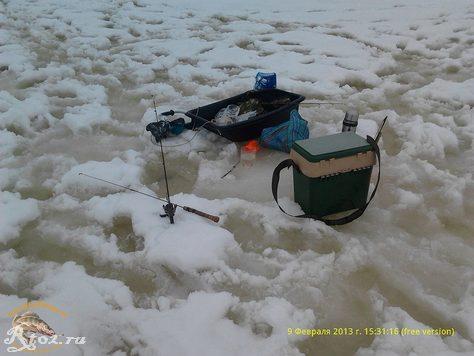 наша база на льду