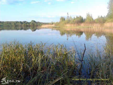 ловлю на озере