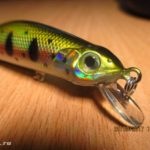 Китайская копия воблера Zipbaits Orbit 80 с Aliexpress. Bear King Bass Slicker 80