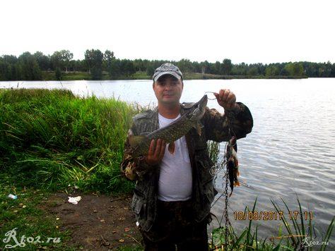 Улов рыбы на Десне