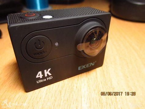 Вид камеры Eken H9R