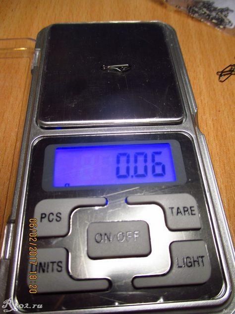 вес карабинчика из китая