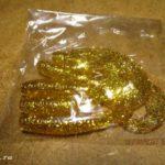 Китайские твистеры с желтыми блестяшками с Aliexpress