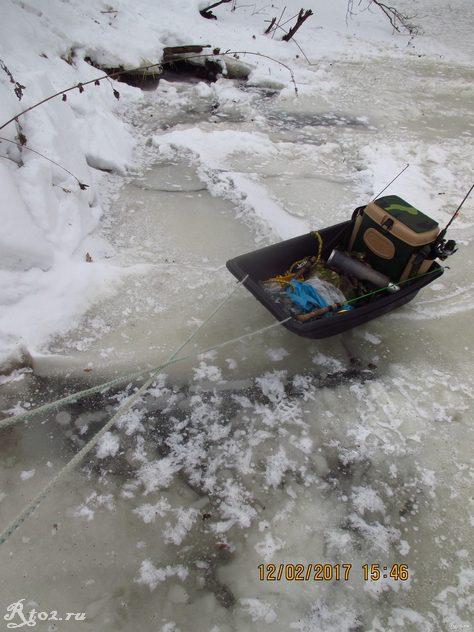 мои рыболовный зимние санки