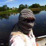 Ловля щуки и окуня спиннингом на заболоченном озере