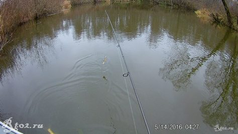 глубокое место на реке