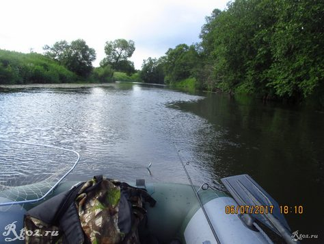 сплав по небольшой реке