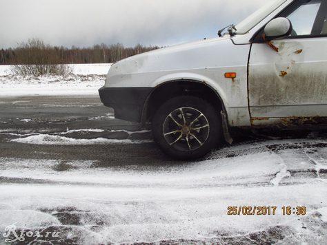 провал асфальта на дороге