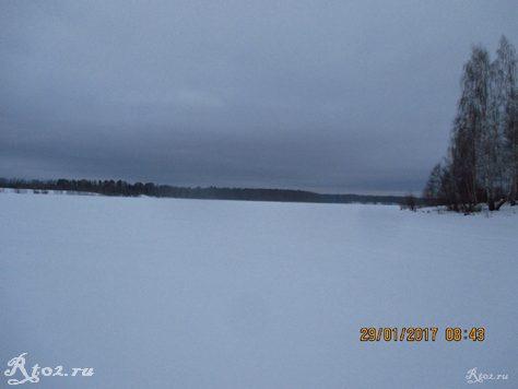 Десногорское водохранилище около деревни Колпино 1