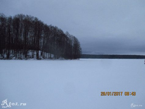 Десногорское водохранилище около деревни Колпино 2