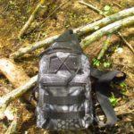 Небольшой рюкзачок с Aliexpress для ловли на поплавочную удочку