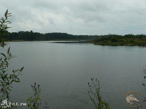 новое озеро в глинке