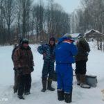 Районные соревнования по рыбной ловле