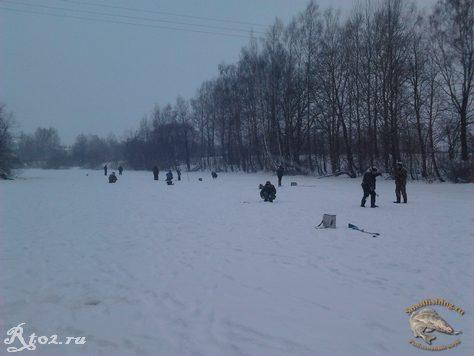 Соревнования по рыбной ловли между сельских поселений 12