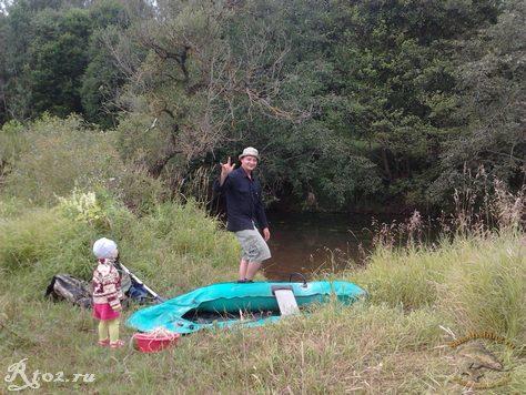 Собираюсь на сплав по реке