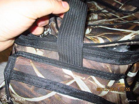 ремень вшит в сумку