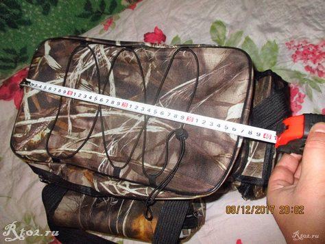 Длина сумки без карманов