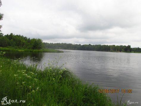 Десногорское водохранилище. Стряна