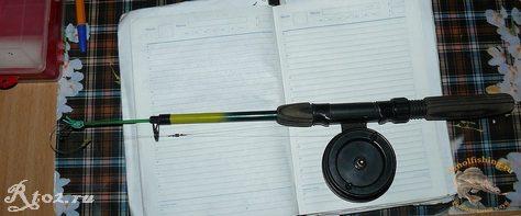 первый удильник для ловли на балду