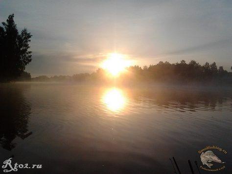 Восход на Десне