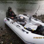 Река Днепр. Ловля белого хищника в конце сентября 2015. День второй.