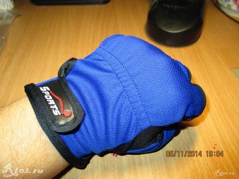 Синие перчатки для рыбалки с алиэкспресс 3