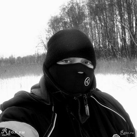 я в теплой маске