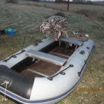 Поездка на речку Вихра в ноябре или предпоследний день навигации