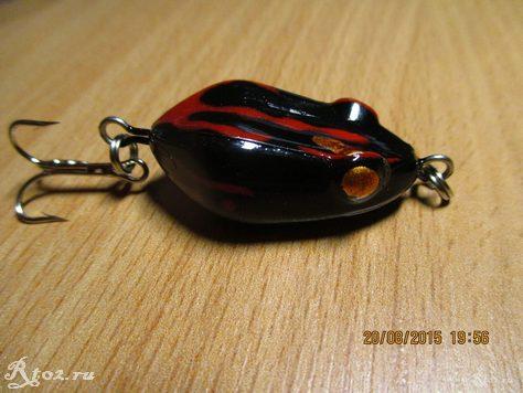 лягушка из китая с тройником 3