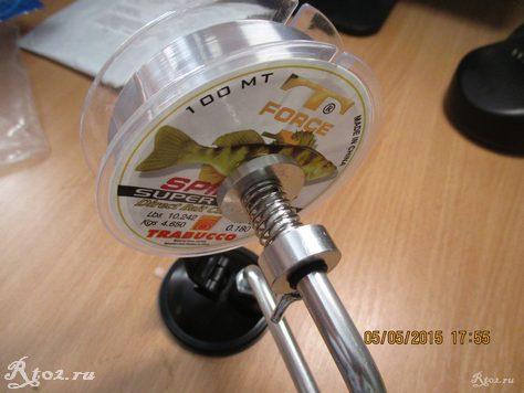 устройство для намотки лески 7