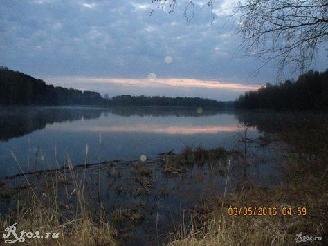 утро на реке Стряна 1