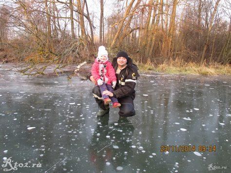 я с дочкой на льду 4365