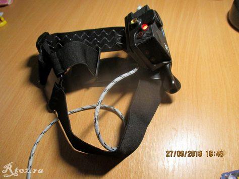 Крепление для экшен камер на голову 19