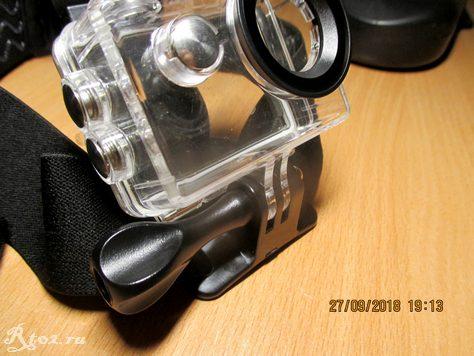 Крепление для экшен камер на голову 15