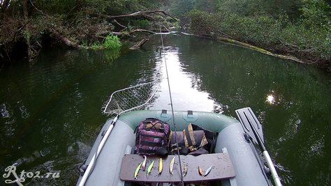 сплав по небольшой реке3