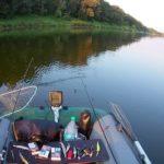 Сплав по реке Днепр в конце августа 2018. Ловля белого хищника спиннингом
