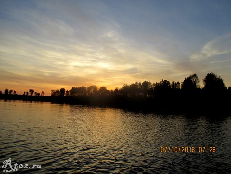 Рассвет на реке Десна
