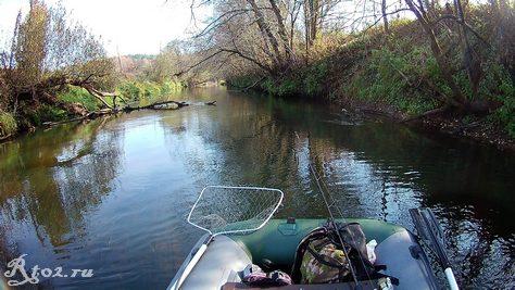 река в октябре 5