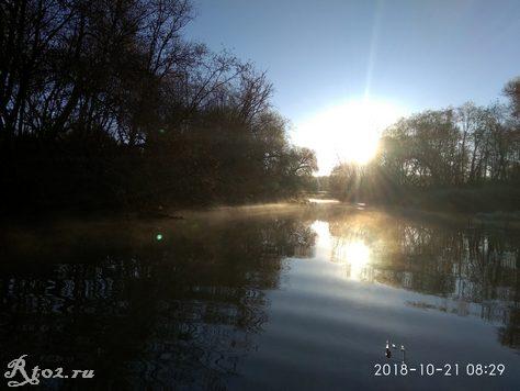 рассвет на малой реке