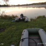 Ловля щуки китайскими воблерами на Десногорском водохранилище осенью 2018