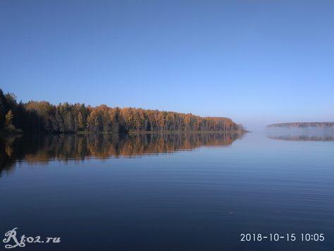 Осень на Десногорском водохранилище