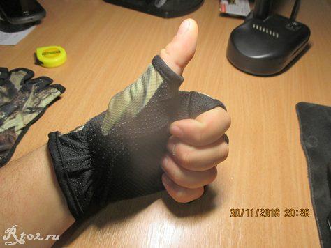 перчатки с открытыми пальцами с Aliexpress