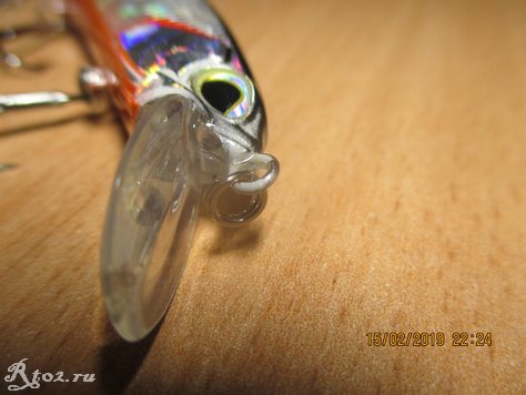 передняя петля реалиса от джонку