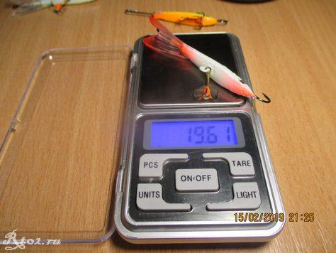 вес светло зеленого балансира FishKing 7 см