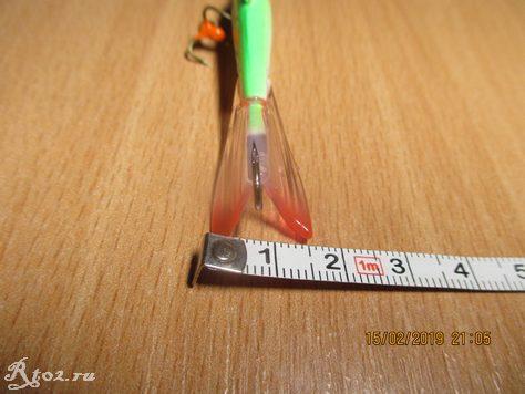 ширина хвоста балансира FishKing 7 см
