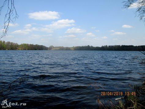 третий съезд на Десногорском водохранилище