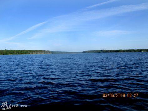 Десногорское водохранилище в июне 2019