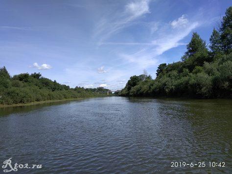 Железнодорожный мост на реке Днепр