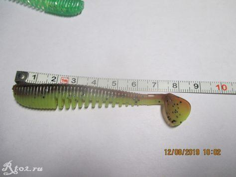 длина копии виброхвоста awaruna из Китая