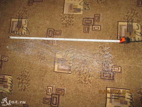 Длина сетки для подсака
